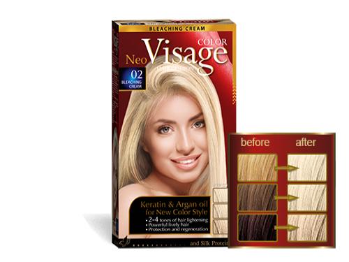 Hair color VISAGE - Solido Cosmetics LTD