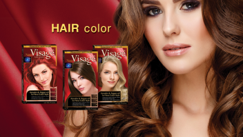 Hair color VISAGE